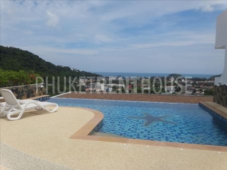 Apartment for rent, 1 BR, in Kata, Pool, Sea View