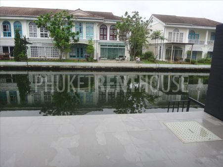 3 bed villa for rent, water front, in Marina, shared pool