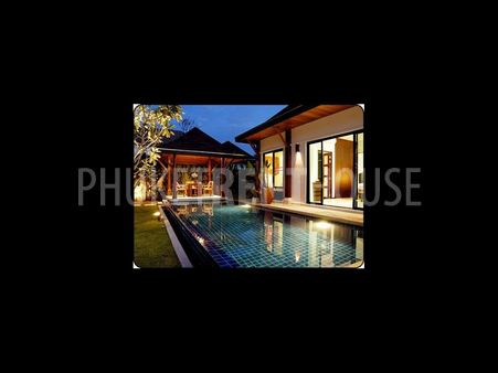 3 bed pool villa for rent, in Layan