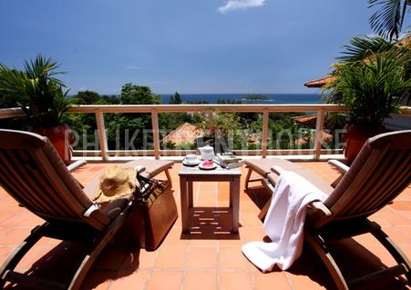 Open view 180 degree from every corner of the villa