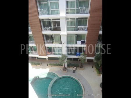 Condo for rent, 2 BR, in Patong, Nice Pool, quiet area