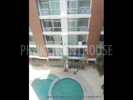Condo for rent, 1 BR, in Patong, Nice Pool, quiet area