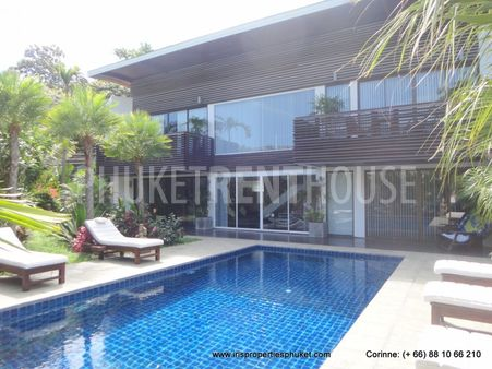 Villa for rent, in Kathu, next to Loch Palm, 3 bedroom, private pool, beautiful garden