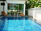 private pool 2 beds villa