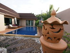 Pool villa in Nai Harn