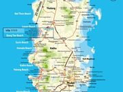 Phuket Map - we are located 25 minutes from the airport.