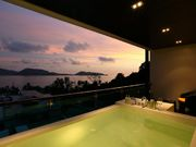 One bedroom with plunge pool at the balcony