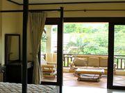 Master bedroom with Balcony