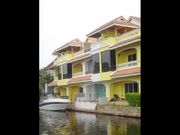 3 bed villa, in Boat Lagoon, waterfront, clubhouse with shared pool, berth for boat