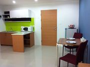 36 sqm. dinning table and qaulity dining leather chairs, microwave, sink cabinet,and fridge