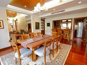 Nine meter/30 foot ceiling makes this the most impressive home in southern Phuket.Large walk-in closets in each of the three main bedrooms feature beautiful woodwork and natural light.Large, luxur