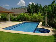 4x10m pool with jacuzzi