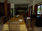 Dining area with room for 10