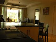 kitchen plus living room
