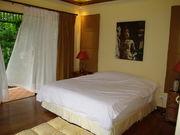 Master bedroom with luxury en-suite bathroom