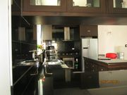 full English built kitchen. Oven .hob.hood and dishwasher, and 2x1mt island with granite tops