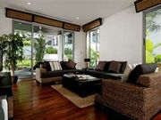 Comfortable, well furnished living room with LCD TV, free wi-fi throughout