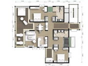 Two bedroom lay out