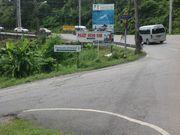 Как ехать с кольца Чалонг, после съезда на Раваи - следующий съезд через метра 4 к домам.