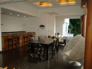 Party / Entertainment area with sea views