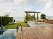 private pool and terrace
