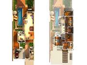 Villa layout