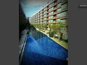 100meter long swimming pool