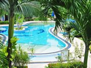 Club Residence gardens and pool