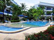 Club Residence pool and sun beds