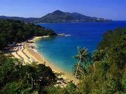 View of Kamala and Laem Sing Beach