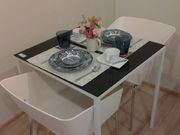 Dining Table with accessories.