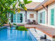 Terrace near the pool