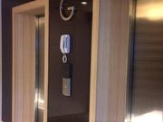 Elevator, controlling by key card