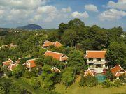 Estate bird's eye view