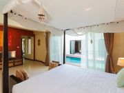bedroom with pool view Phuket