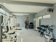 Equipped gym