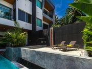 terrace near pool