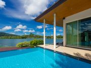 Luxury uniquely designed villa with pool and lake view on Phuket
