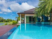 Fully equipped villa swimming pool and lake view on Phuket