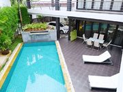 swimming pool with terrace