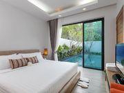 pool view bedroom