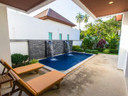 villa with swimming pool in Naiharn
