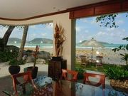 fully equipped villa with ocean view