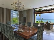 dinner area with sea view