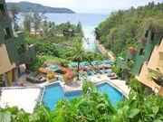 community swimming pool and Andaman sea view
