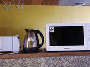 Microwave,  Kettle
