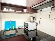 Fully equipped kitchenette