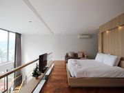 Master bedroom with amazing view over Kamala