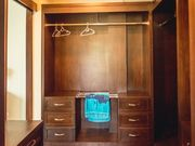 Walk-in closets in every bedroom