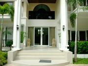 The Villa Entrance